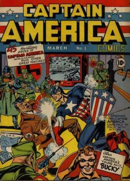 1941 - Captain America Comics #1 cover