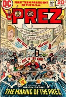 1973 - Prez 1 cover