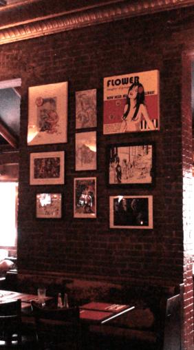 2011 - Kirby Enthusiasm Maxwells, Hoboken, NJ main wall, center