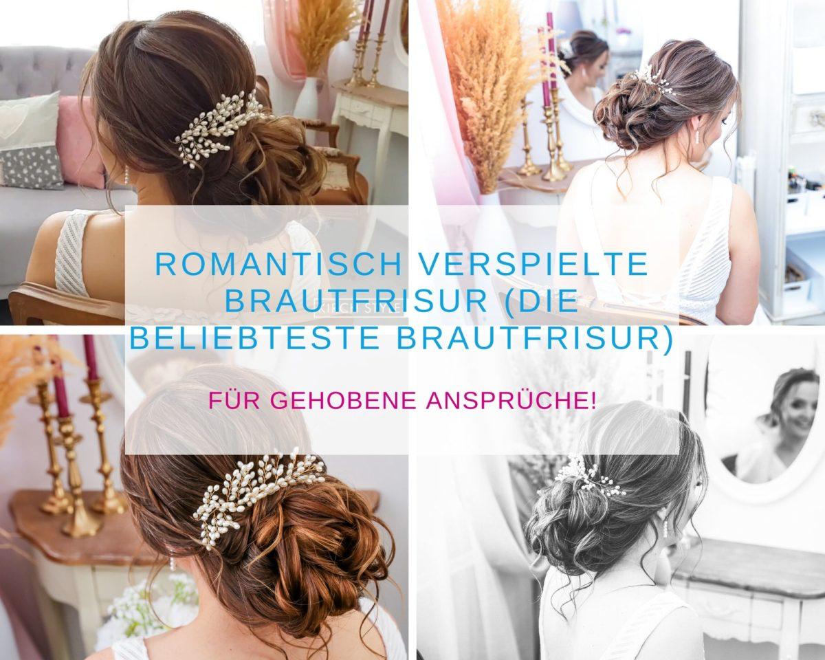 Romantisch verspielte Brautfrisur (Die beliebteste Brautfrisur)_KirchStyle