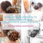 Romantisch verspielte Brautfrisur (Die beliebteste Brautfrisur)