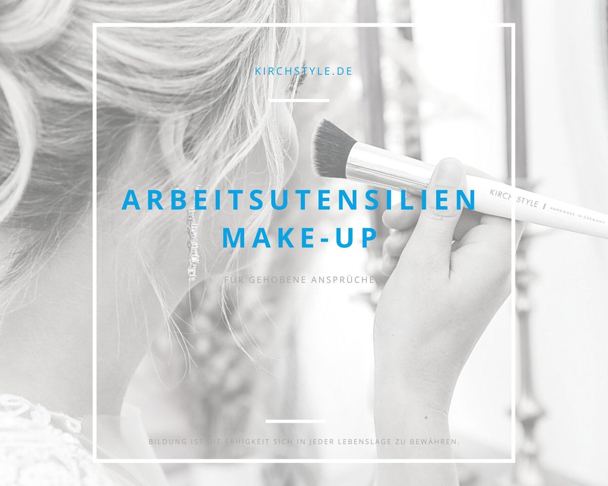 ARBEITSUTENSILIEN MAKE-UP