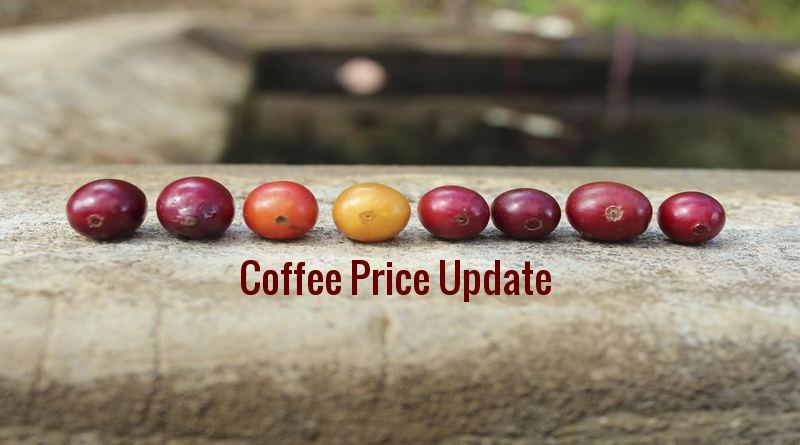 Coffee Prices (Karnataka) on 18-04-2019