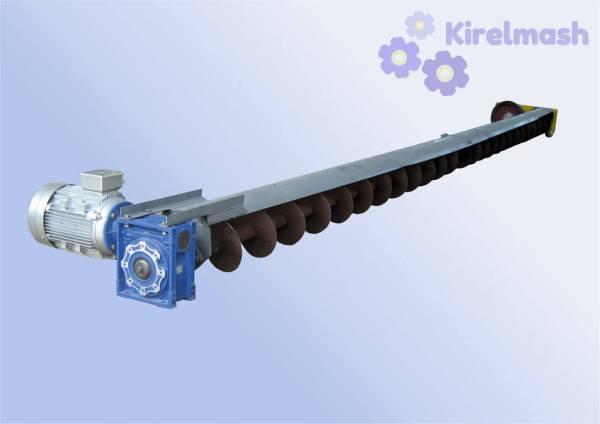 Конвеєр гвинтовий радіально-поворотний ГКРП (Зачистний шнек)