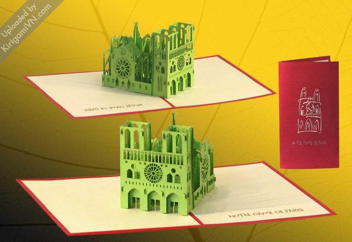 KirigamiVN Notre Dame de Paris preview