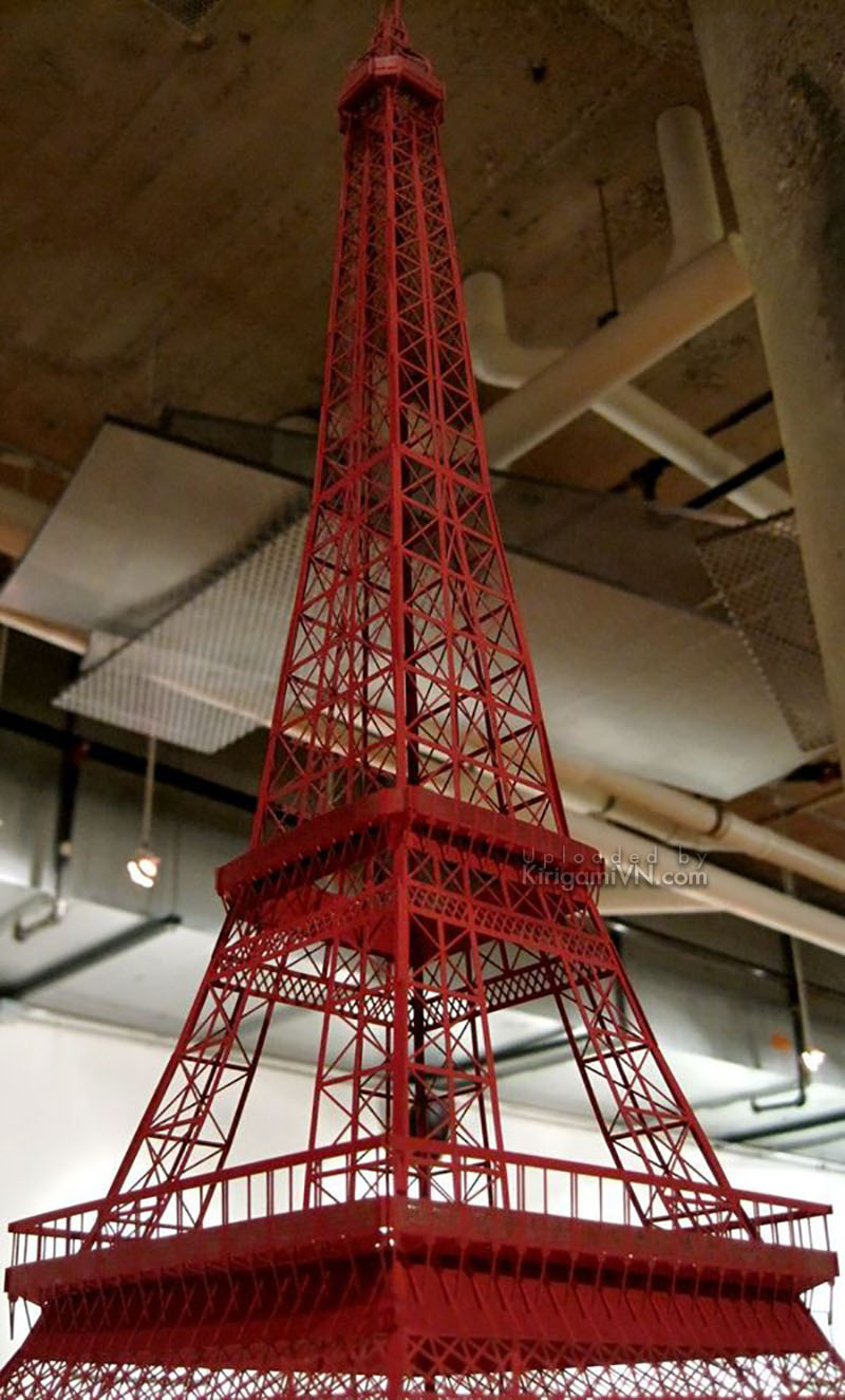 The Eiffel Tower Pattern KirigamiVn preview 3