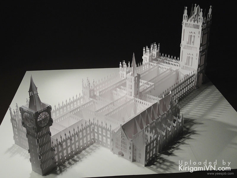 The Palace of Westminster preview kirigamivn 3