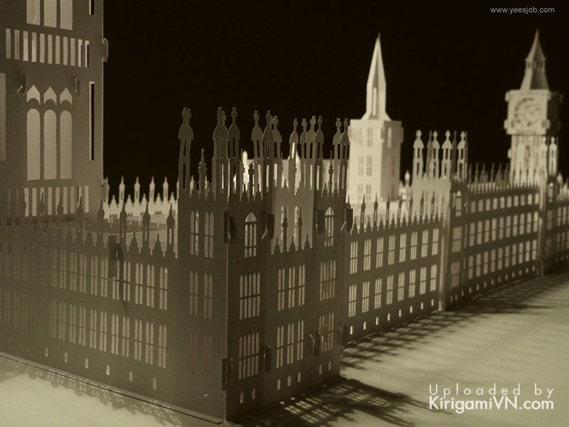 The Palace of Westminster preview kirigamivn 4