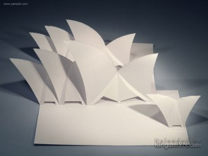 The Sydney Opera House preview kirigamivn 3