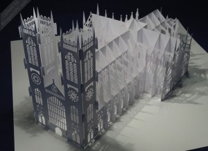 The Westminster Abbey Pattern preview KirigamiVN.com 2