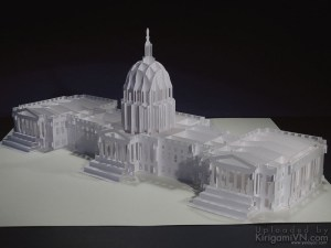 United States Capitol Pattern Preview KirigamiVN 2
