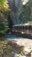 L'entrée des caves Akiyoshido