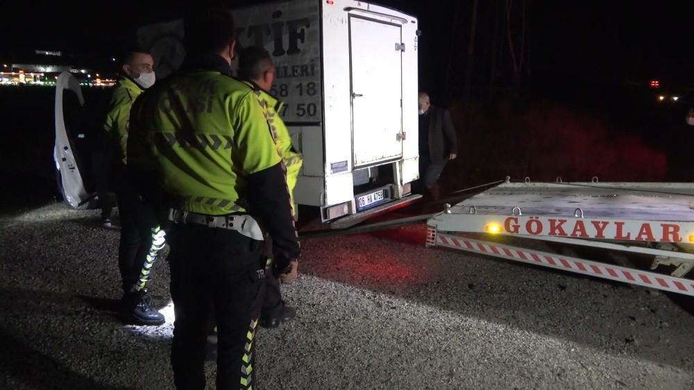 Polisle şüpheli arasında 30 kilometrelik kovalamaca…Aracını bırakıp kayıplara karıştı
