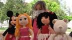 Kadınlar örgü oyuncaklarla ev ekonomisine katkı sağlıyor