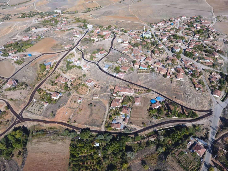 Kırıkkale'de üstyapı çalışmaları sürüyor