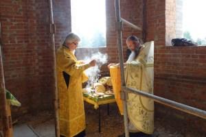 Первая литургия в храме святителя Николая Рождественского 3