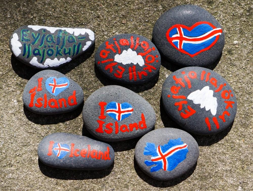 Исландские камни