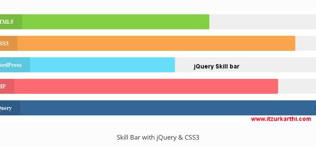 Skill bars
