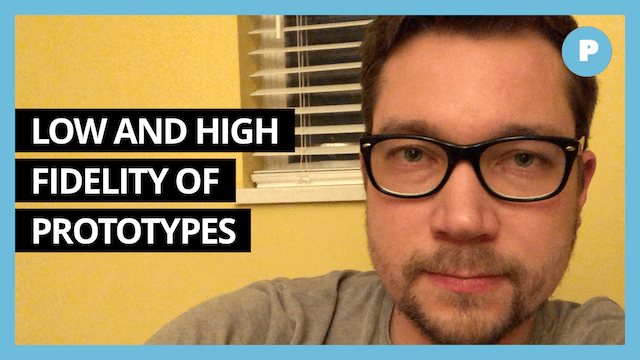 Low and High Fidelity Prototypes 101 - Get Prototyping Academy (#23)
