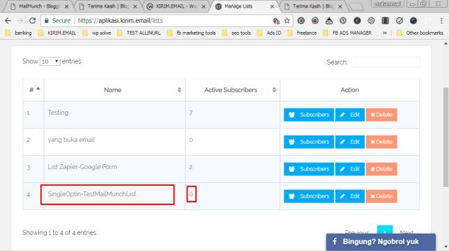 Tutorial Mengintegrasikan Layanan KIRIM.EMAIL dengan Plugin WordPress Gratis