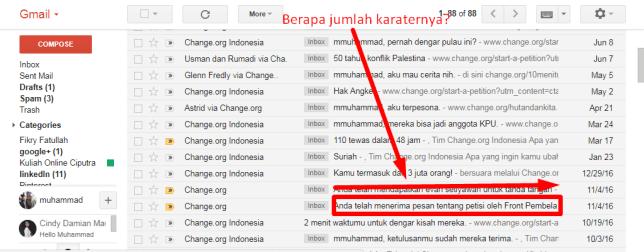 pola ke-3 dari 6 pola subject email change org