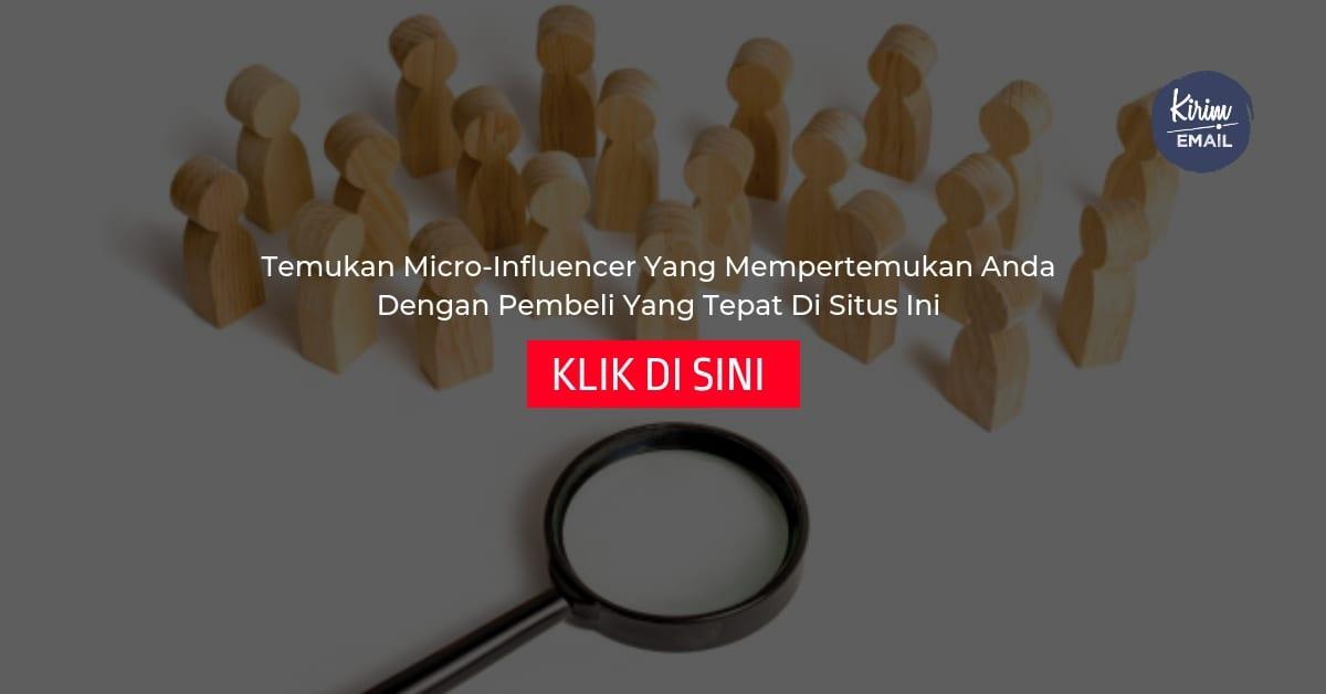 Temukan Micro-Influencer Yang Mempertemukan Anda Dengan Pembeli Yang Tepat Di Situs Ini