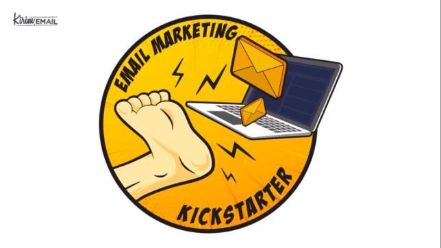 email marketing kickstarter