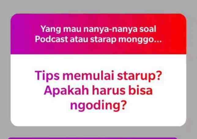 Episode 62 - Membangun Startup Walaupun Tidak Bisa Coding - 1