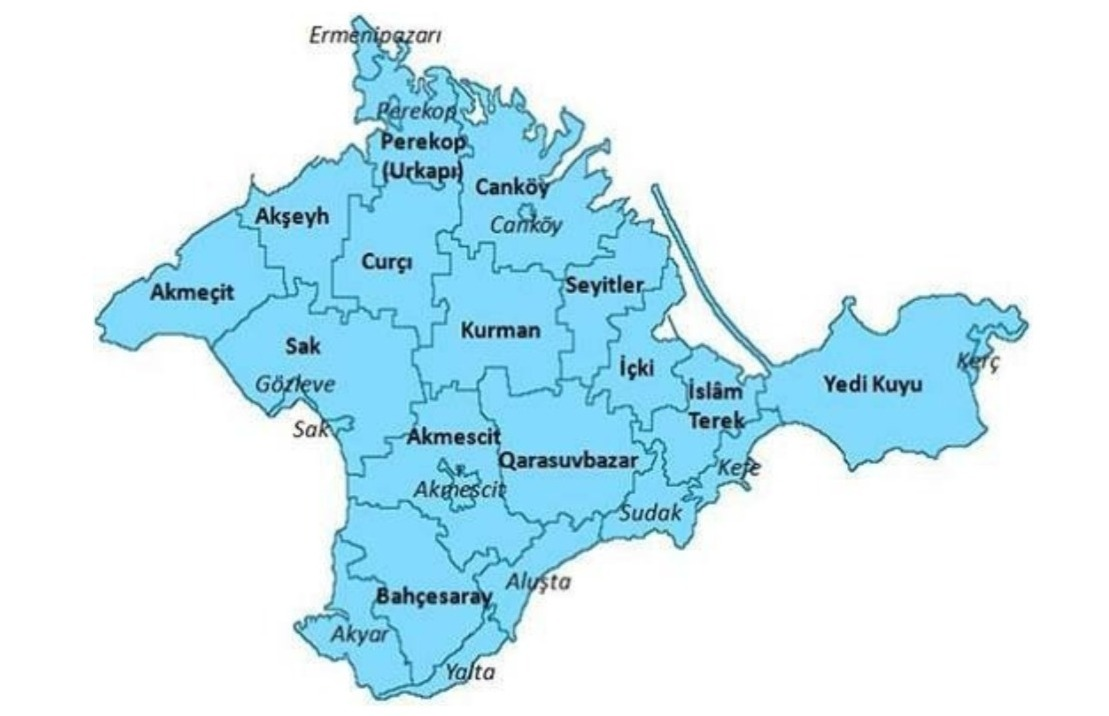 kırım haritası ile ilgili görsel sonucu