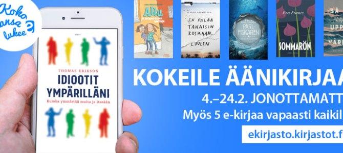 Koko kansa lukee 4.–24.2.2019