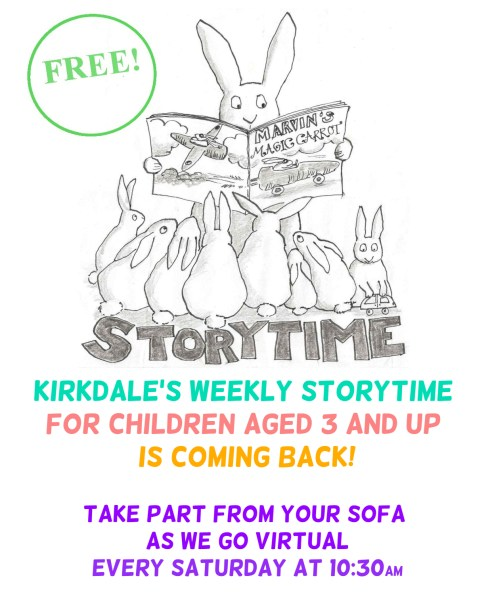 Virtual storytime WEBSITE