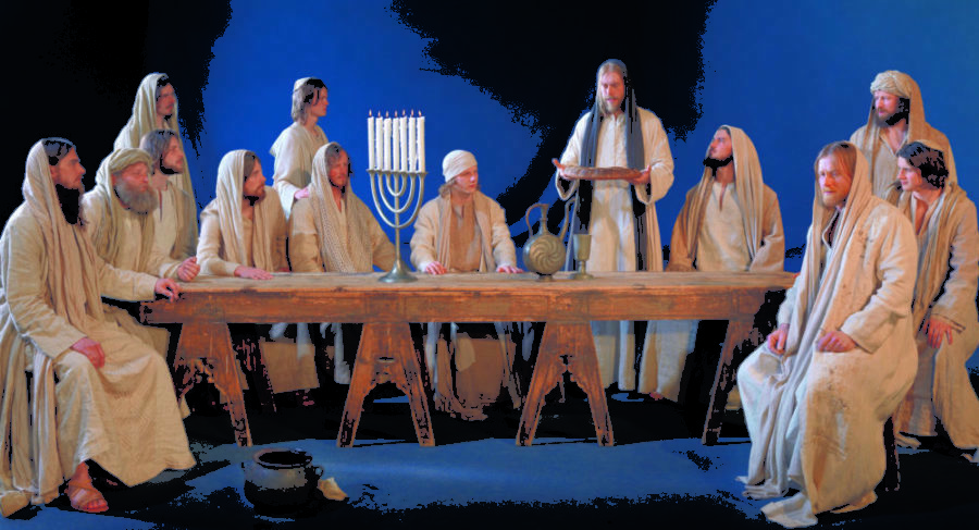 Den sidste nadver. copyright Passion Play Oberammergau 2020