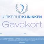 Gavekort Massasje Kirkerud Klinikken Skien Telemark