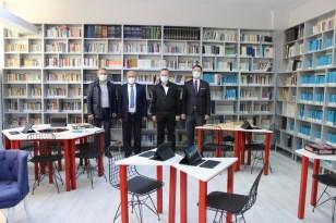 Kırklareli'nde '3D Teknolojik Kütüphane' açıldı