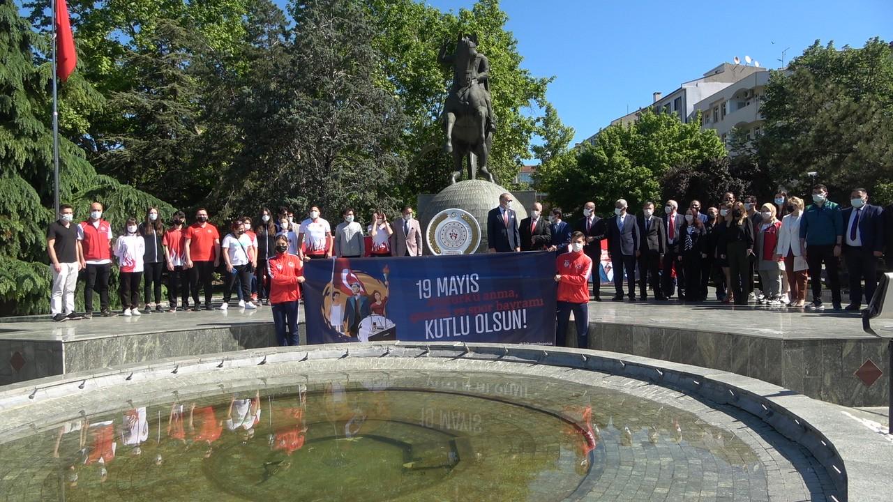 Kırklareli'nde 19 Mayıs kutlamaları