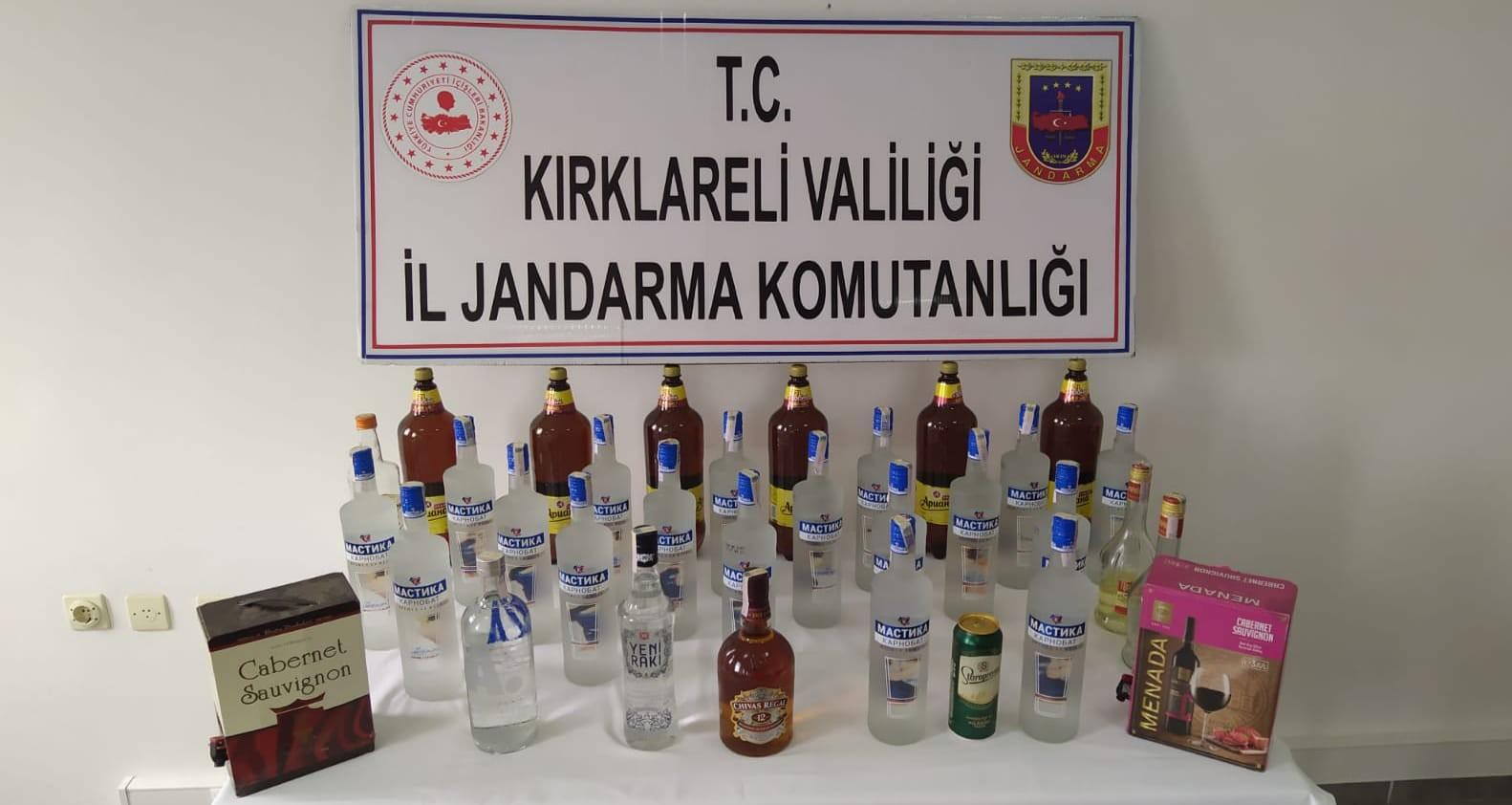 Trakya'da kaçak alkol satışına geçit yok