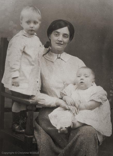 Grandma, Dewsbury, 1916