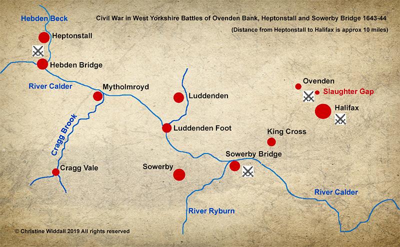 Battle of Sowerby Bridge © C Widdall