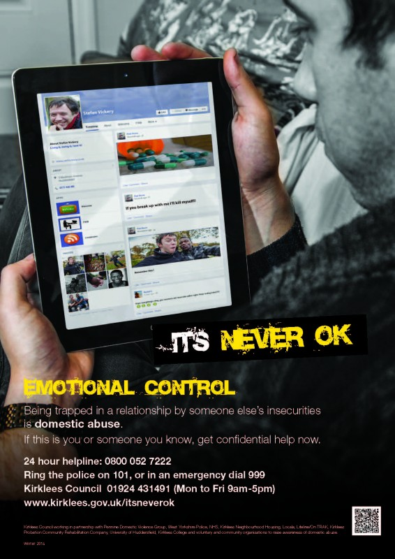 Emotional control - poster