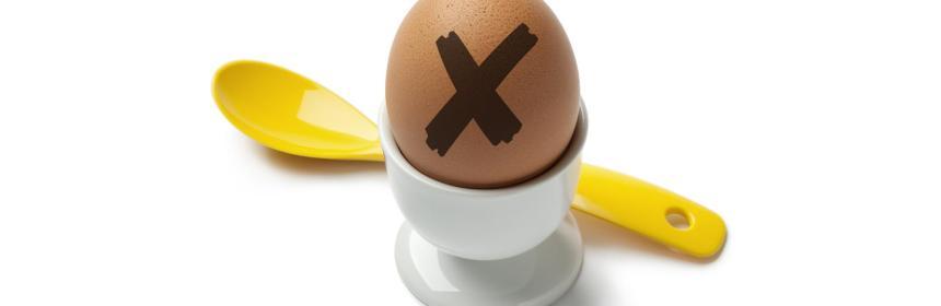 boiling an egg