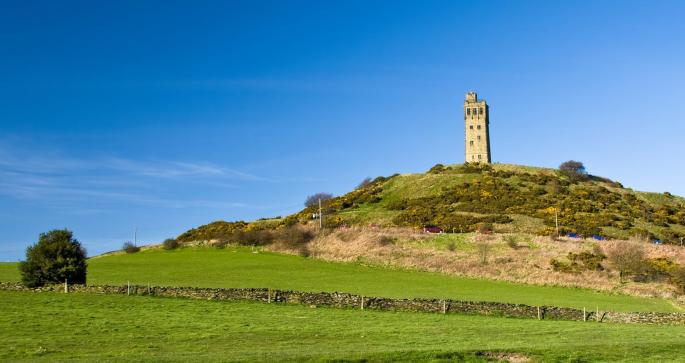 Keep this landscape view of Castle Hill litter free