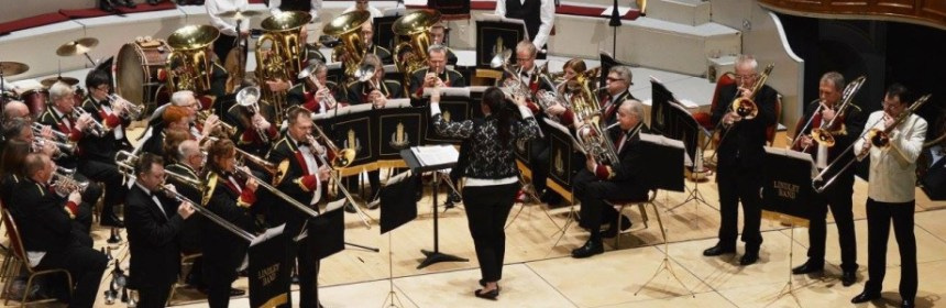 Lindley Brass Band perform at Rotary Club Concert
