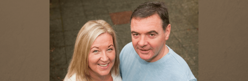 Foster carer Keith and wife zoe