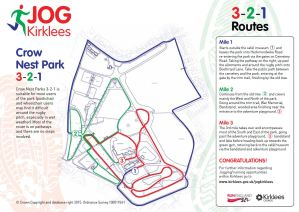 Crow Nest Park 321 Route