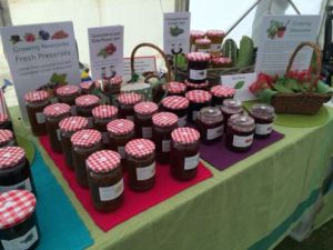 Locally grown jams
