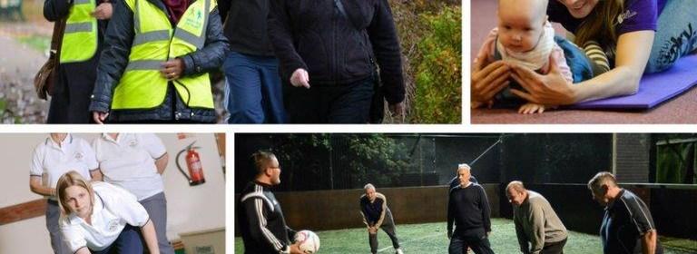 photos of active people in Kirklees