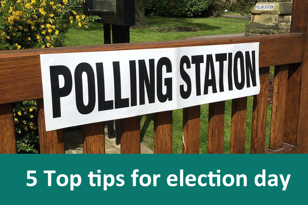 five tip tips for election day