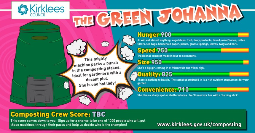 The Green Johanna top trump card
