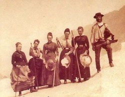 Mary-Taylor-mountaineering-1874 Red Hosue Museum Archive