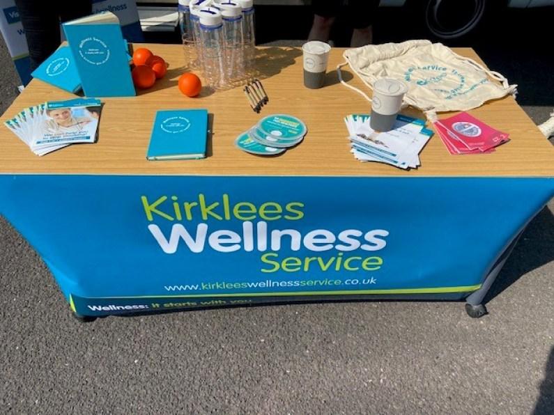 Kirklees Wellness promotional material